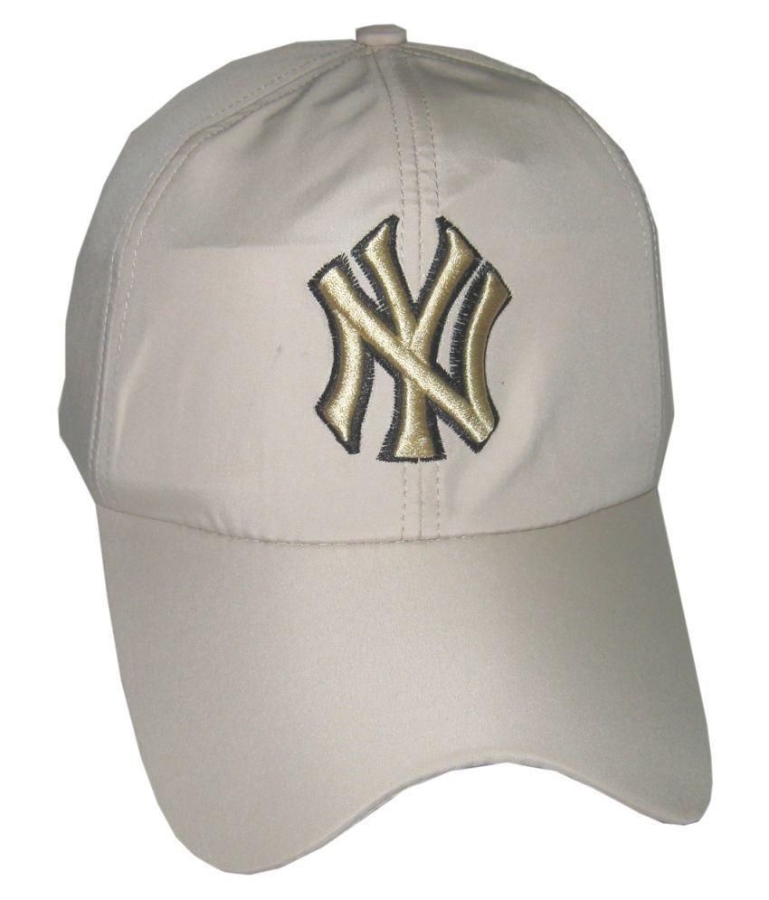 Goodluck Beige Cotton Caps