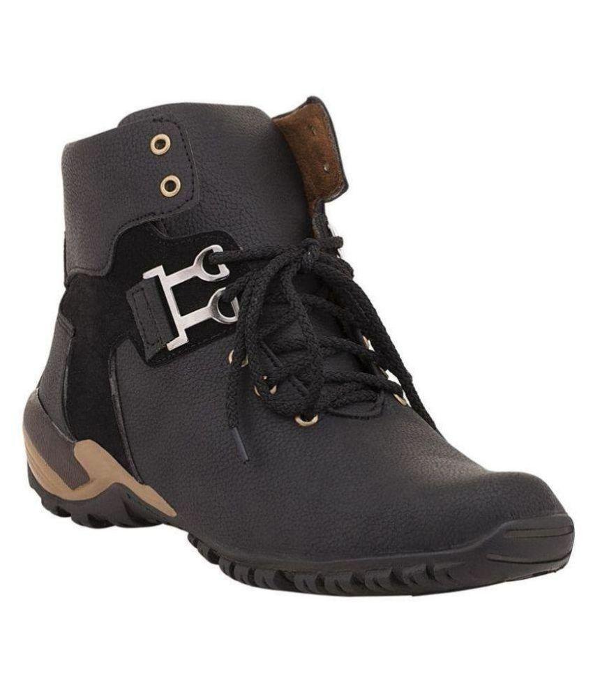 Vosco Black Casual Boot