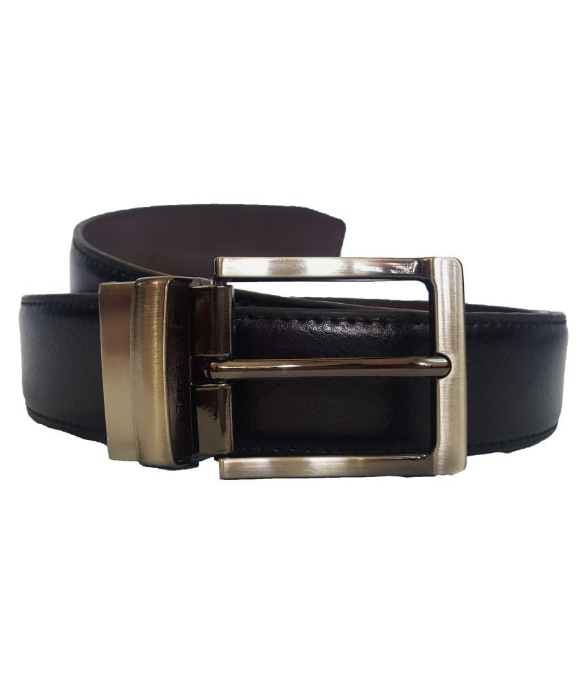 Adamstone Black Leather Formal Belts