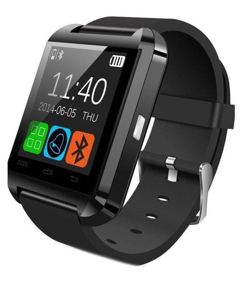 Callmate Bluetooth U8 Smart Watches Black