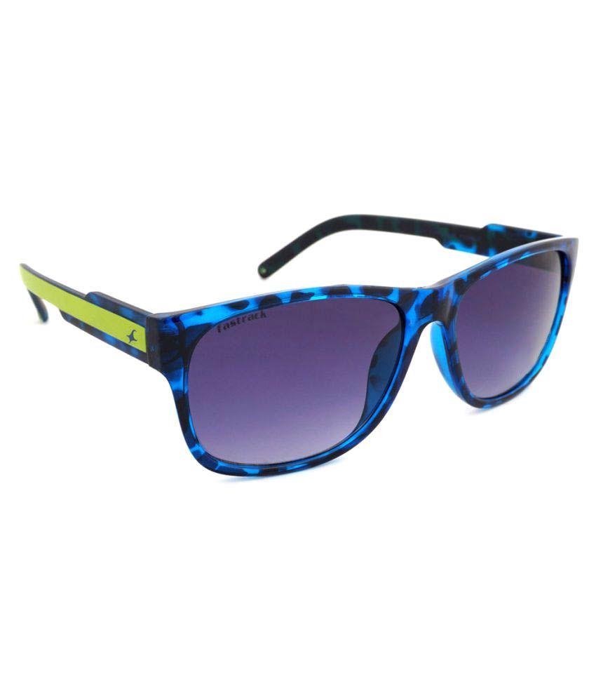 Fastrack Blue Wayfarer Sunglasses ( P328 )