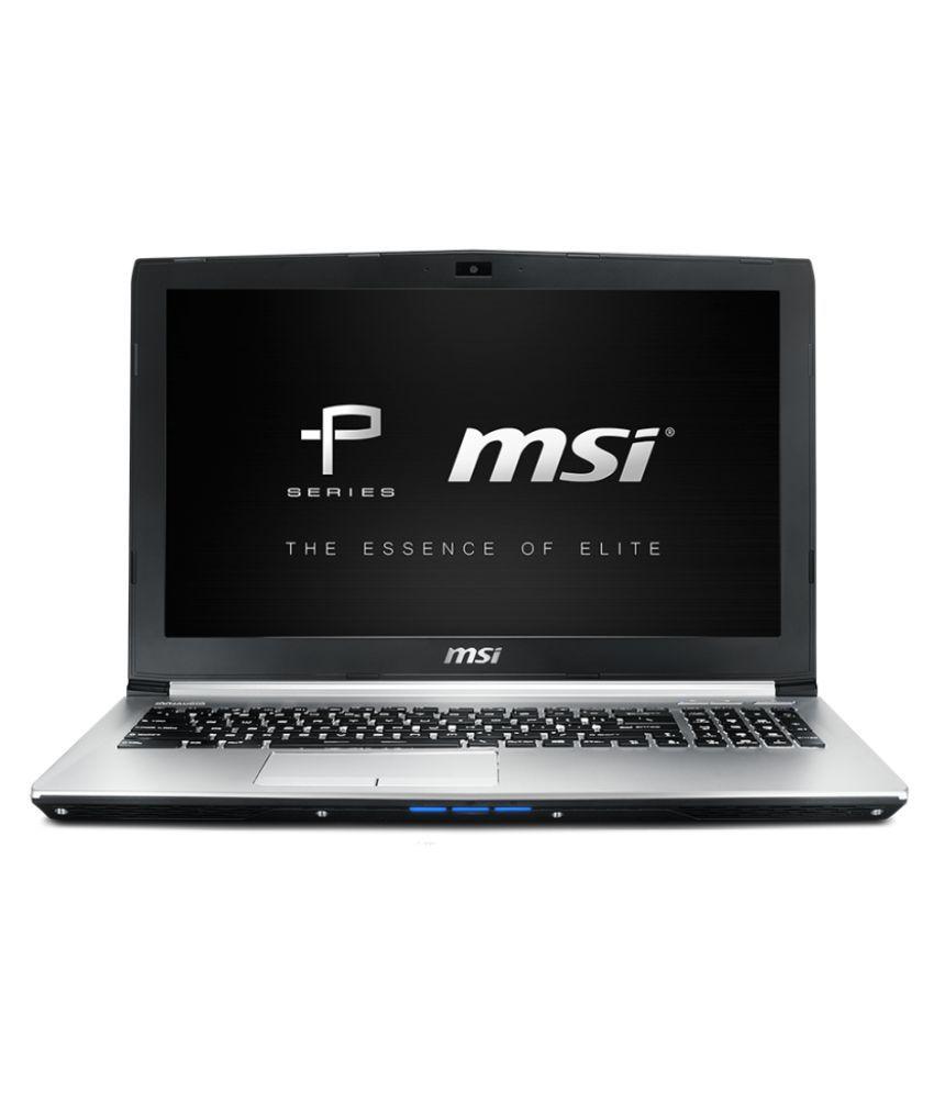 MSI Prestige PE60-7RD Notebook (7th Gen Intel Core i7- 16GB RAM- 1TB HDD- 39.62cm(15.6)- DOS- 4 GB Graphics) (Silver)