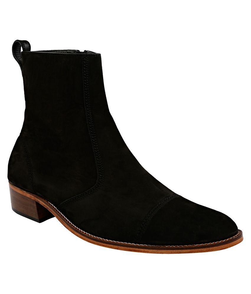 Shoe Bazar Black Chelsea boot