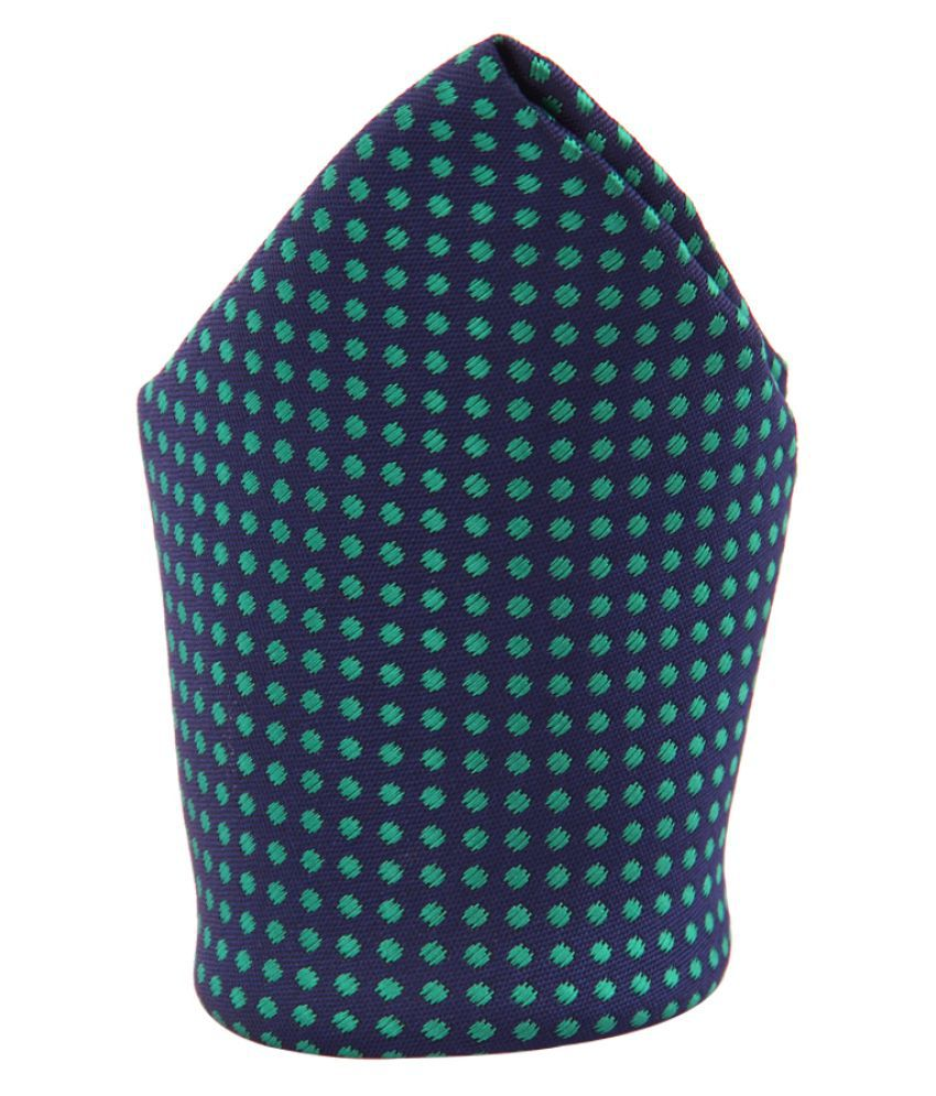 Tossido Green Terry Pocket Square