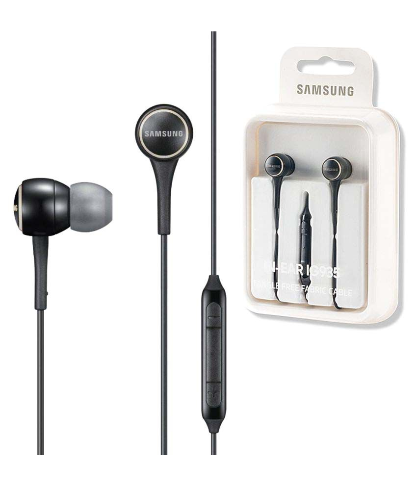 decda2e8e45546 Samsung EO-IG935BW In Ear Wired Earphones With Mic - Buy Samsung EO-IG935BW  In Ear Wired Earphones With Mic Online at Best Prices in India on Snapdeal