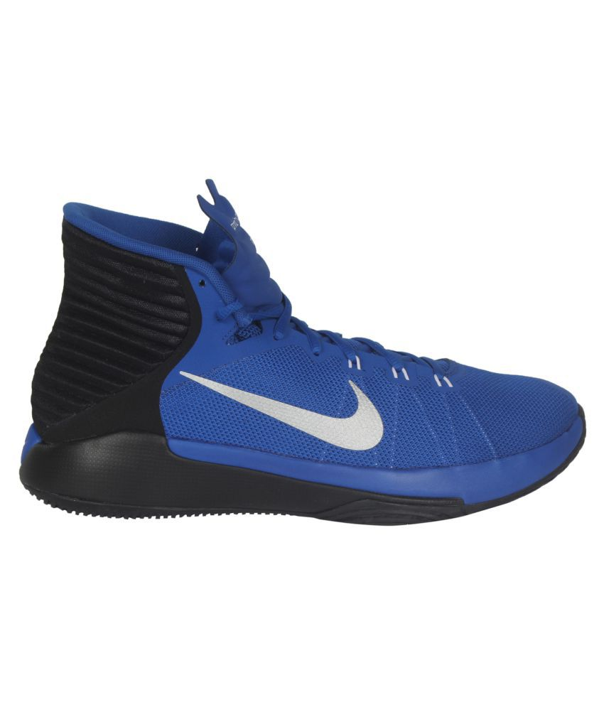 new arrival 7ca80 34c06 Nike Prime Hype Df 2016 Blue Basketball Shoes