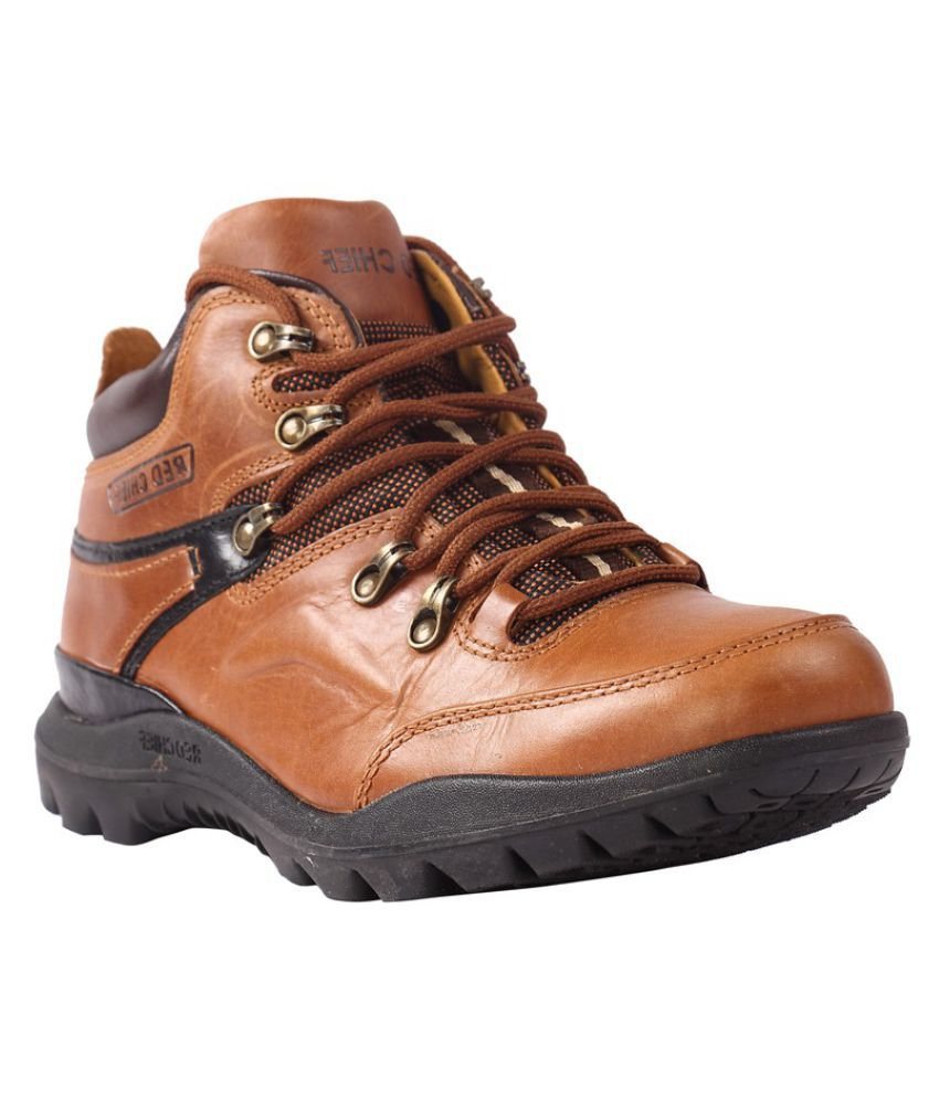 Red Chief 5070 Outdoor Tan Casual Shoes