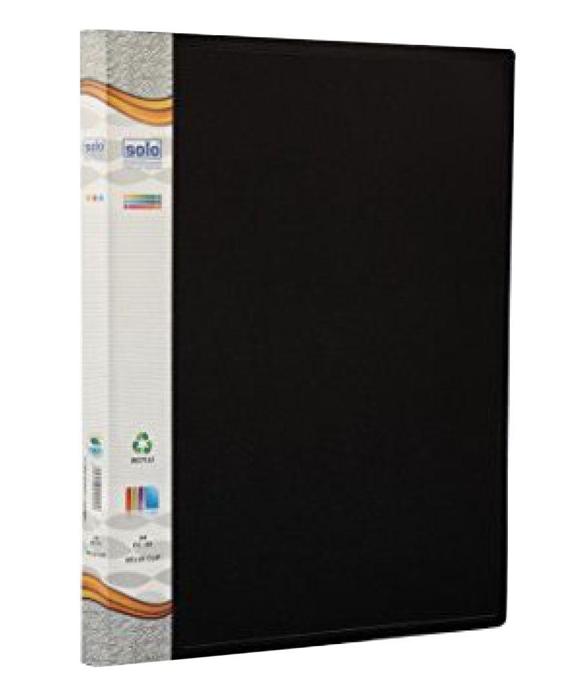Solo Dc101 A4 Size Clip File (black) Snapdeal deals