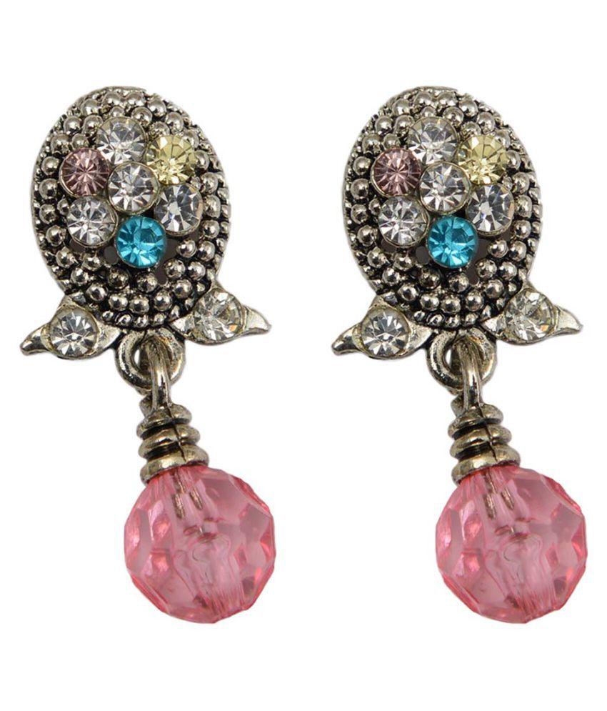 Taj Pearl Designer Drop Earrings