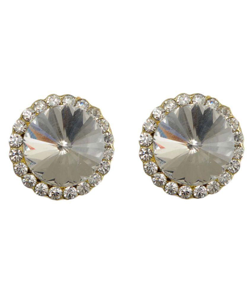 Taj Pearl Designer Stud Earrings
