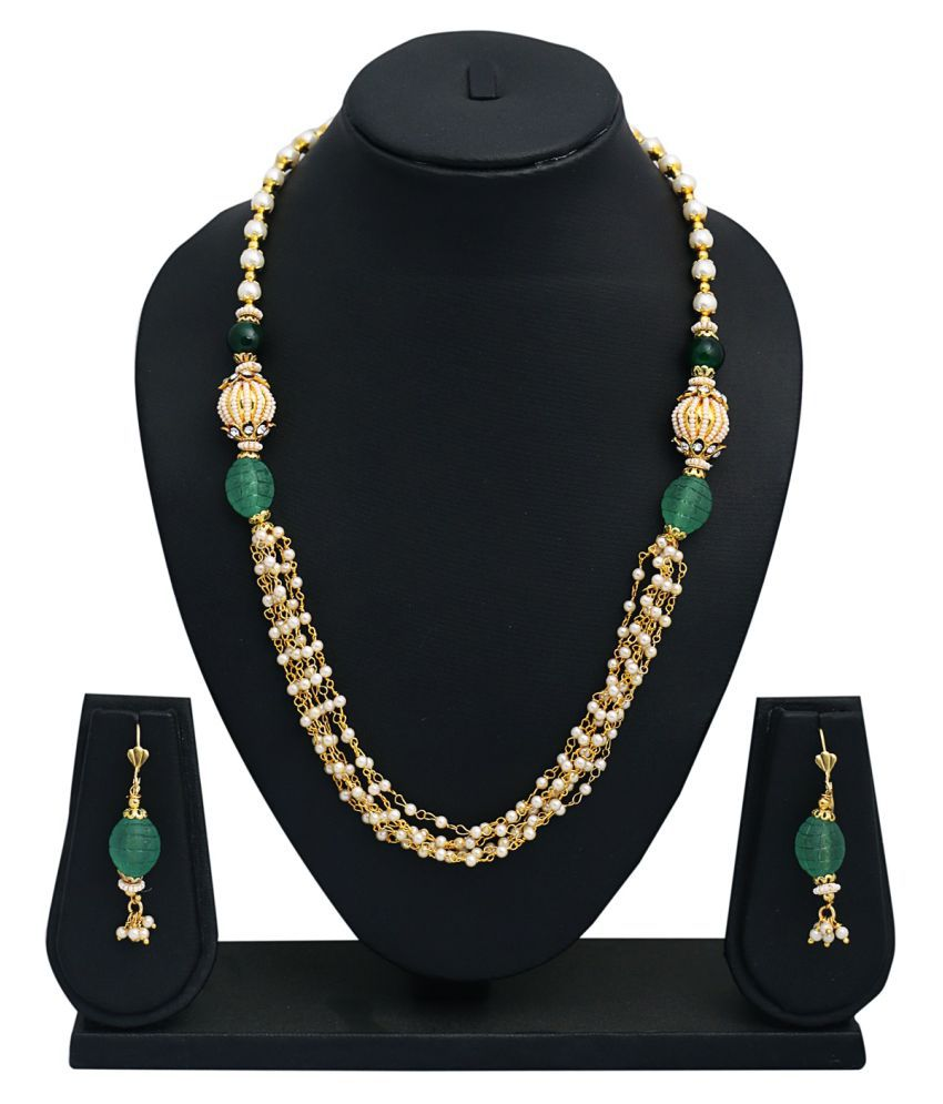 Glory Jewels Multicolor Alloy Necklace Set