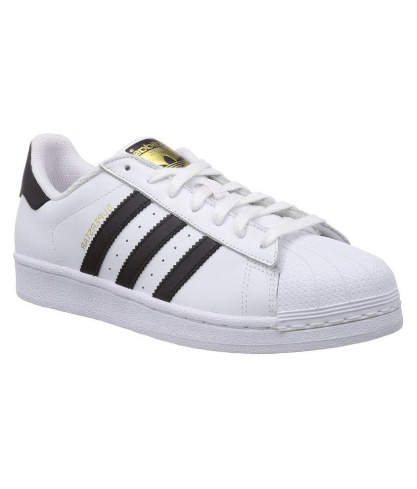 261fa5ef568 Adidas Superstar Sneakers White Casual Shoes - Buy Adidas Superstar Sneakers  White Casual Shoes Online at Best Prices in India on Snapdeal