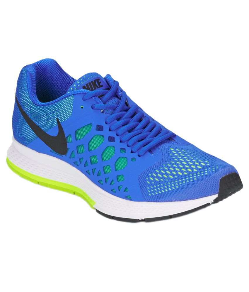 nike zoom pegasus 31 blue running shoes buy nike zoom. Black Bedroom Furniture Sets. Home Design Ideas