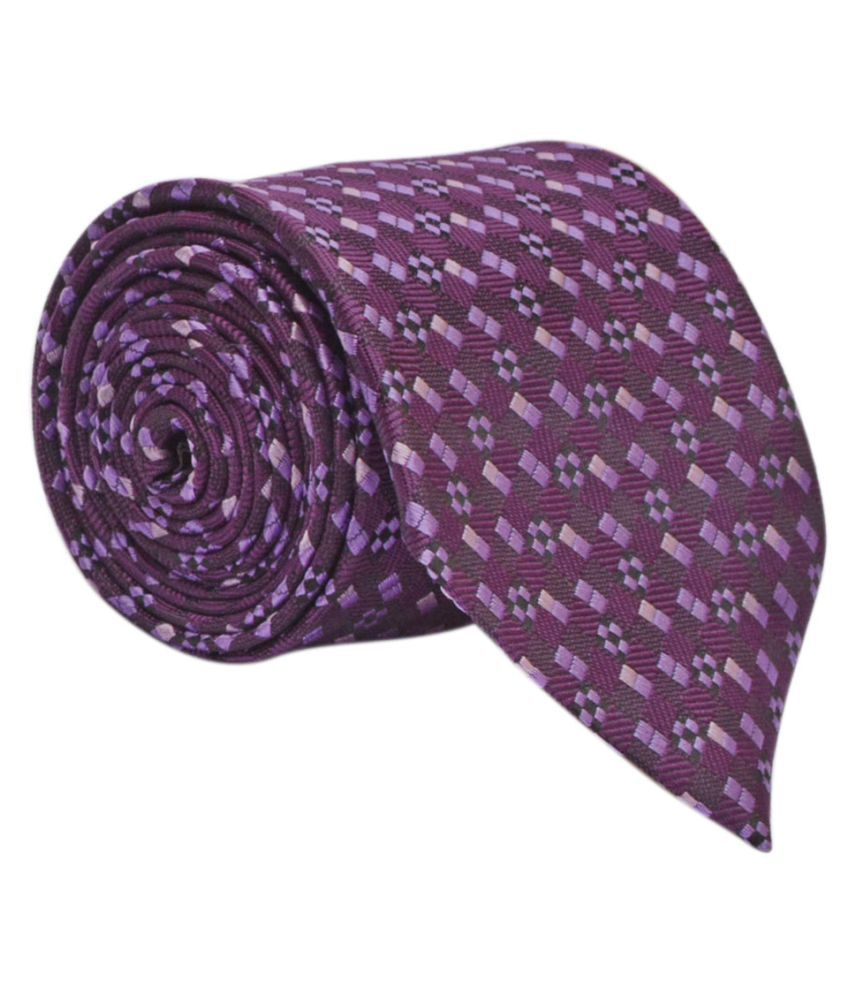 Calvadoss Purple Formal Necktie