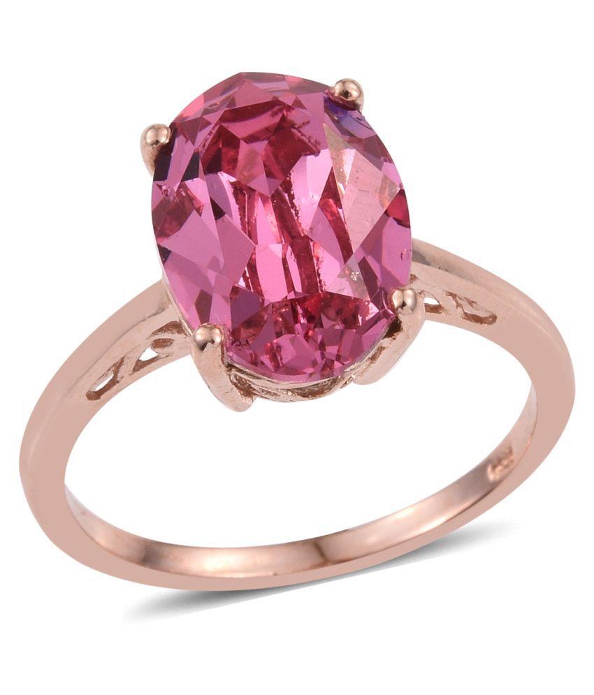 Vaibhav 92.5 Silver Cubic Zirconia Ring