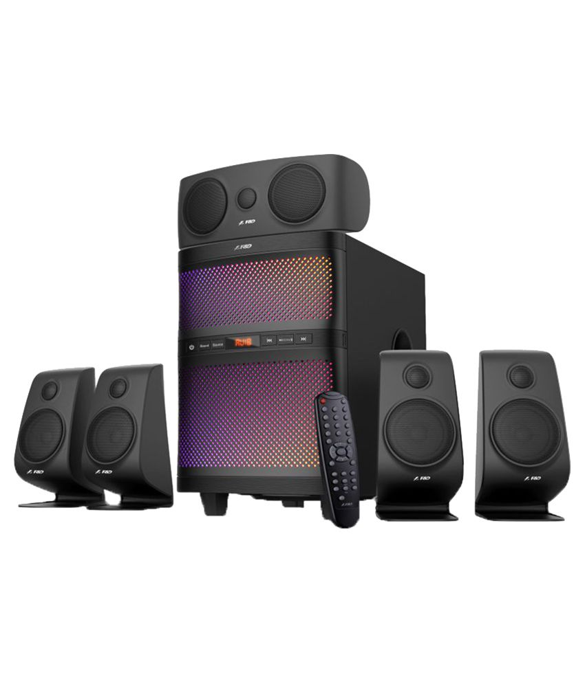 F Amp D F5060x 5 1 Speaker System Snapdeal Price Speakers