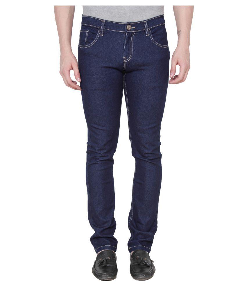 Xee Navy Blue Slim Jeans