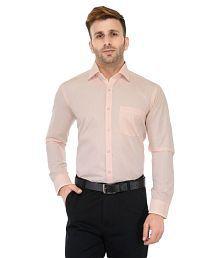 b9fb4528dd6 Peach Color Formal Shirt  Buy Peach Color Formal Shirts Online at ...
