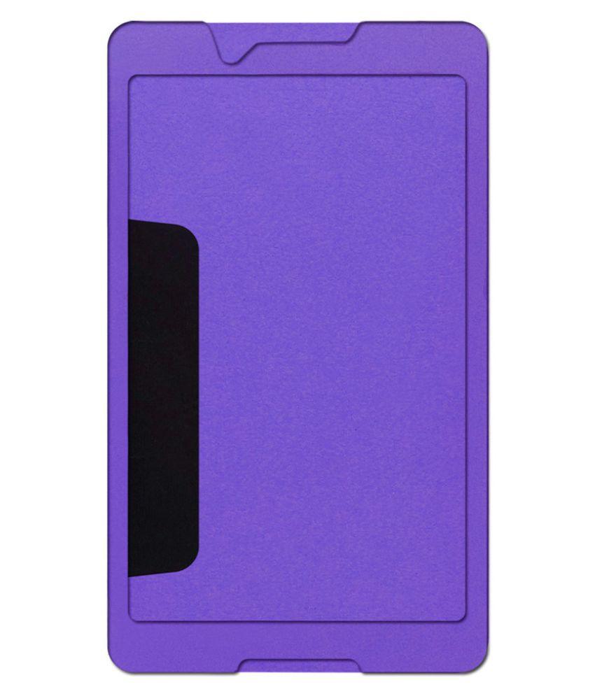 reputable site 11d30 c4000 Lenovo Tab 3 8 Plain Back Cover By ACM Purple