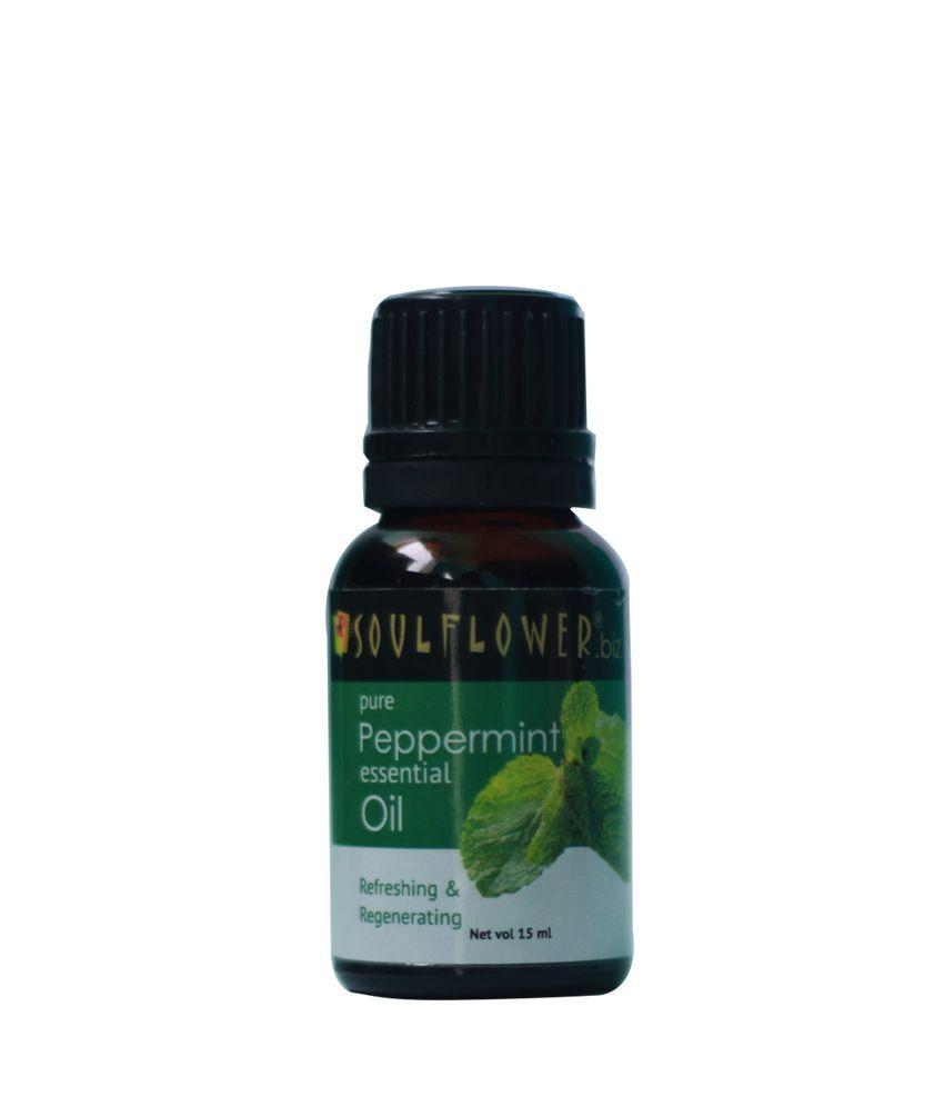 Soulflower Peppermint Essential Oil 15ml