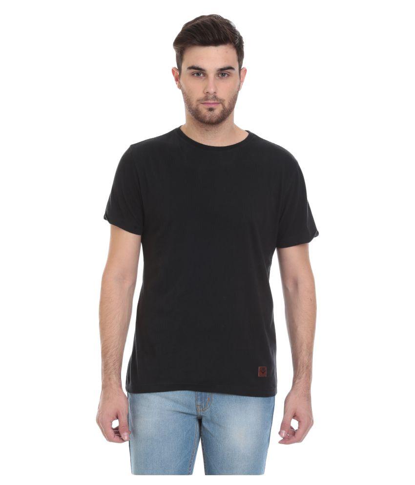 Motocult Black Round T-Shirt