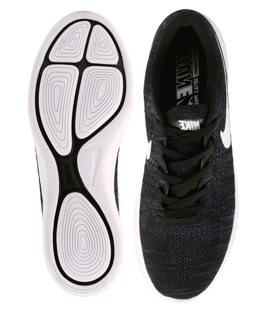 ... Nike Lunar Epic Flyknit Black Running Shoes ...