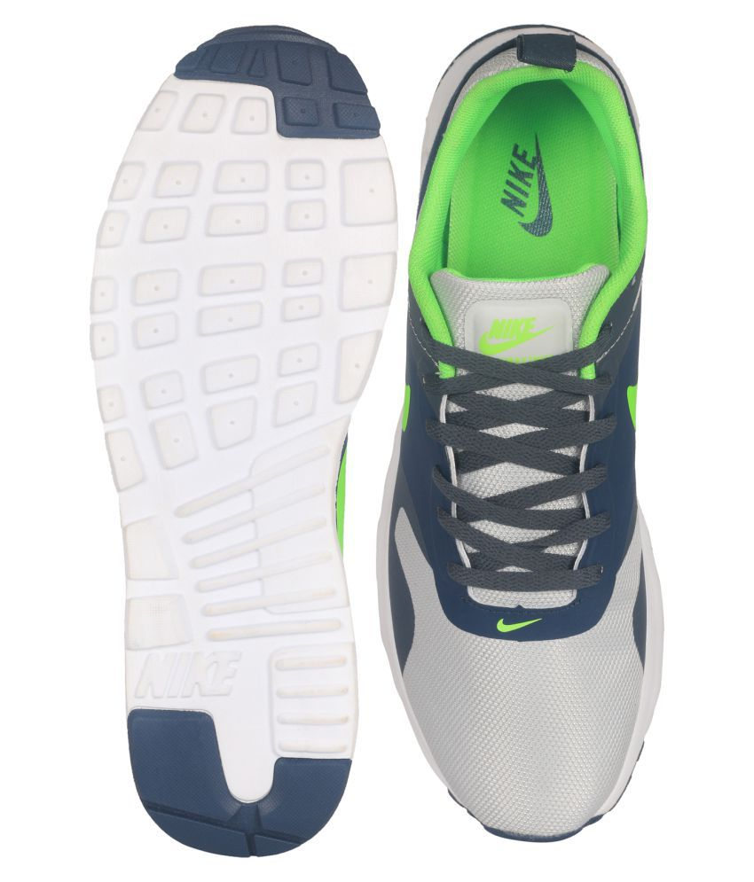 Nike Gray Men's Air Max Tavas Print Running Sneakers From Finish Line for men