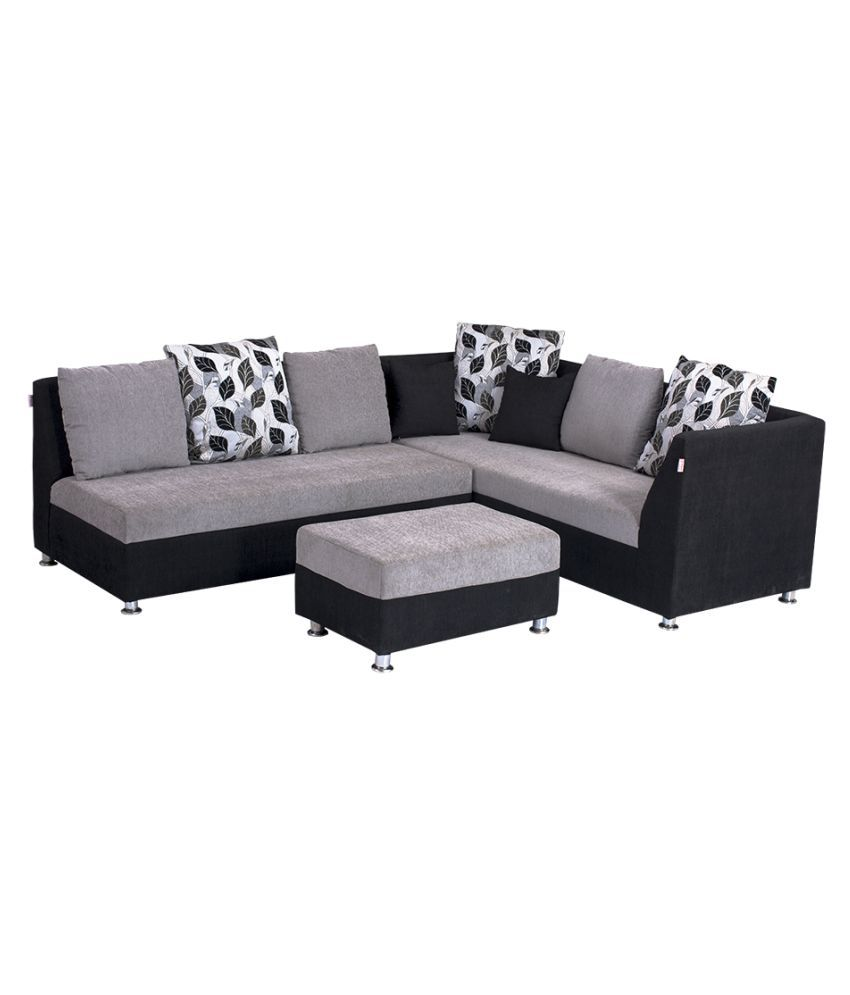 L shape sofa set corner sofa set at rs 42500 sets id for Settee and chair set