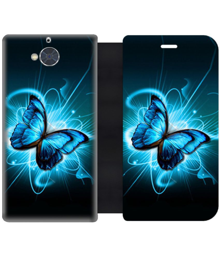 Gionee S6 Pro Flip Cover by Skintice - Blue