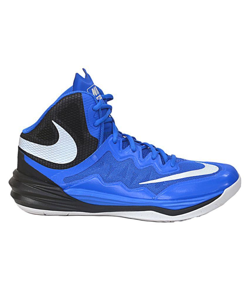 62d77c5a3fd3 Nike Prime Hype DF 2 Blue Basketball Shoes - Buy Nike Prime Hype DF ...