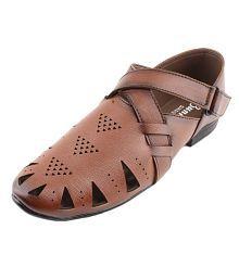 Bunkeys Brown Designer Shoe