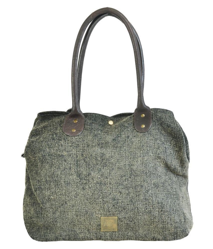 Canvas & Awl Multi Jute Shoulder Bag