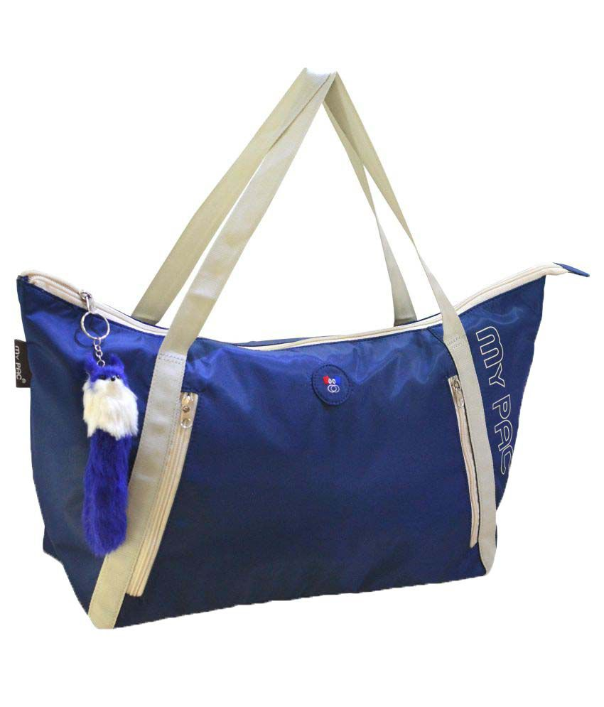 My Pac DB Blue Polyster Shoulder Bag