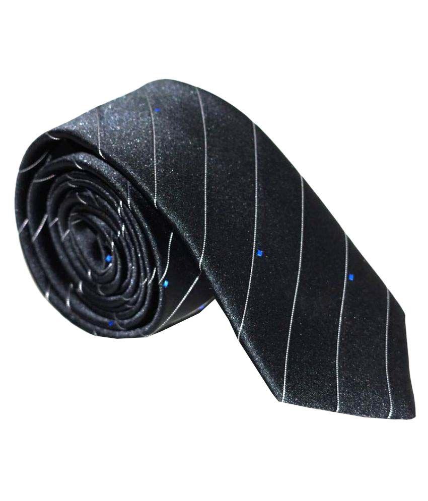 Felicity Black Formal Necktie