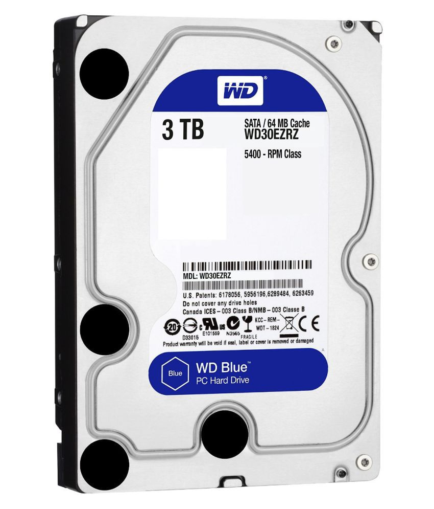 WD WD30EZRZ 3 TB Internal Hard Drive Internal Hard drive