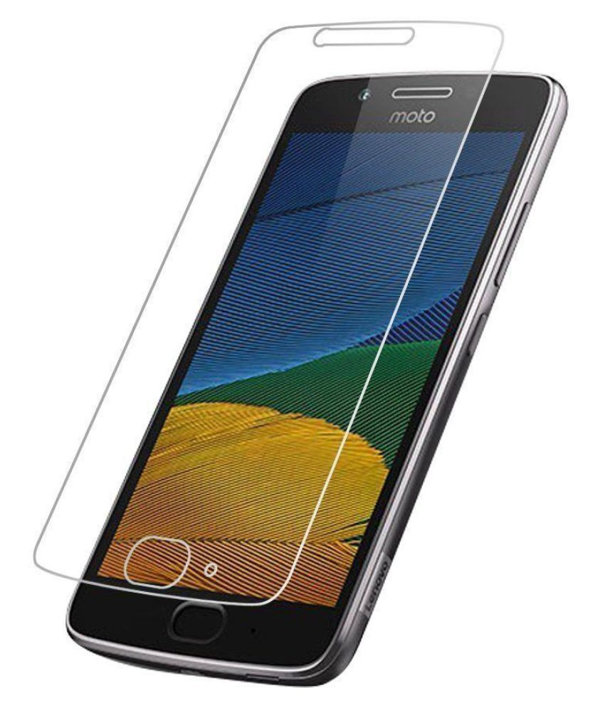 Moto G5 Plus Tempered Glass Screen Guard By Kosher Traders