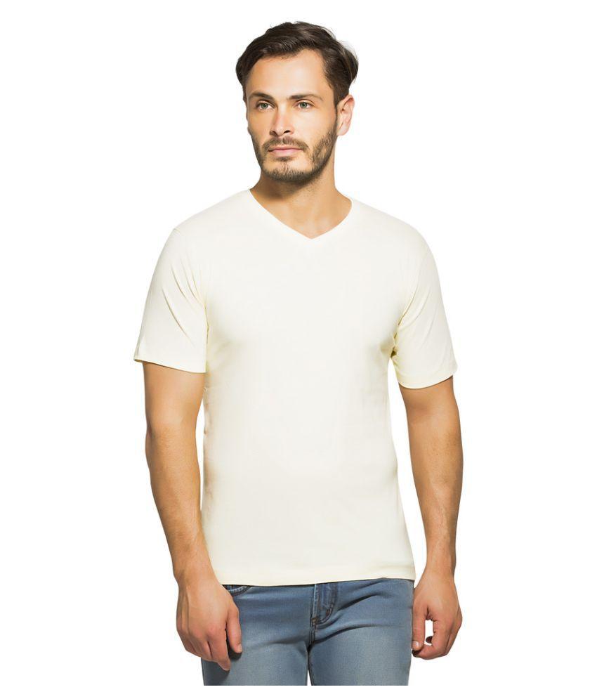 Clifton Off-White V-Neck T-Shirt