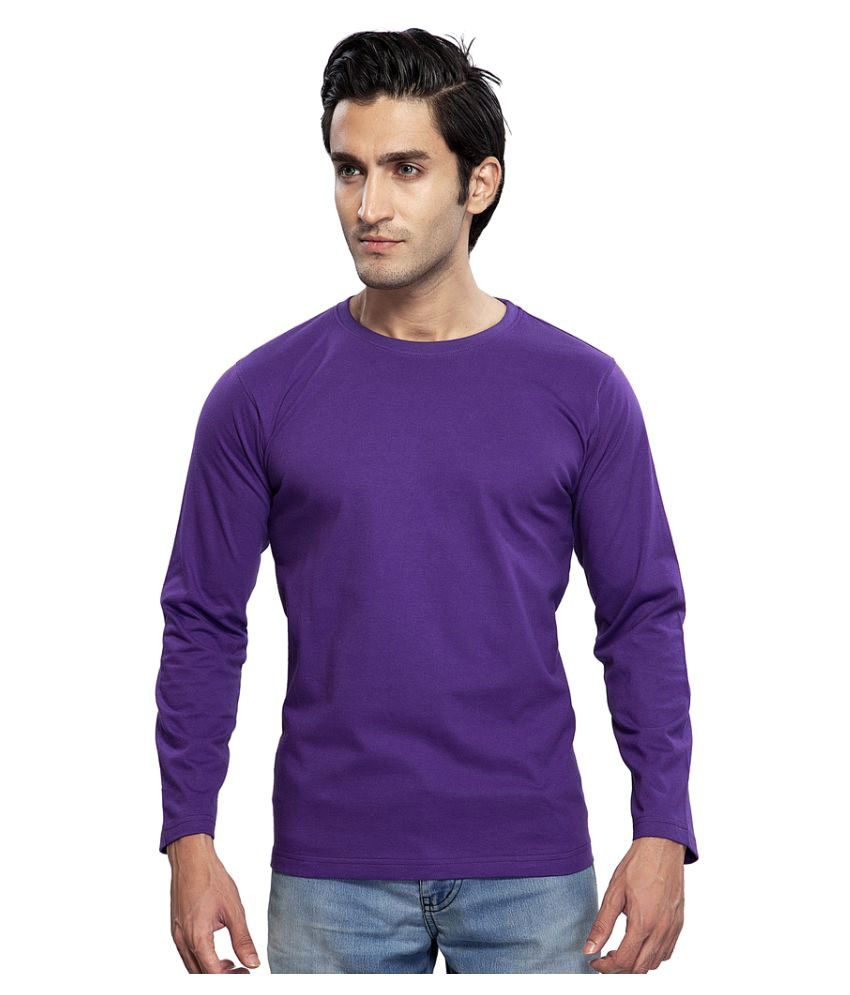 Clifton Purple Round T-Shirt