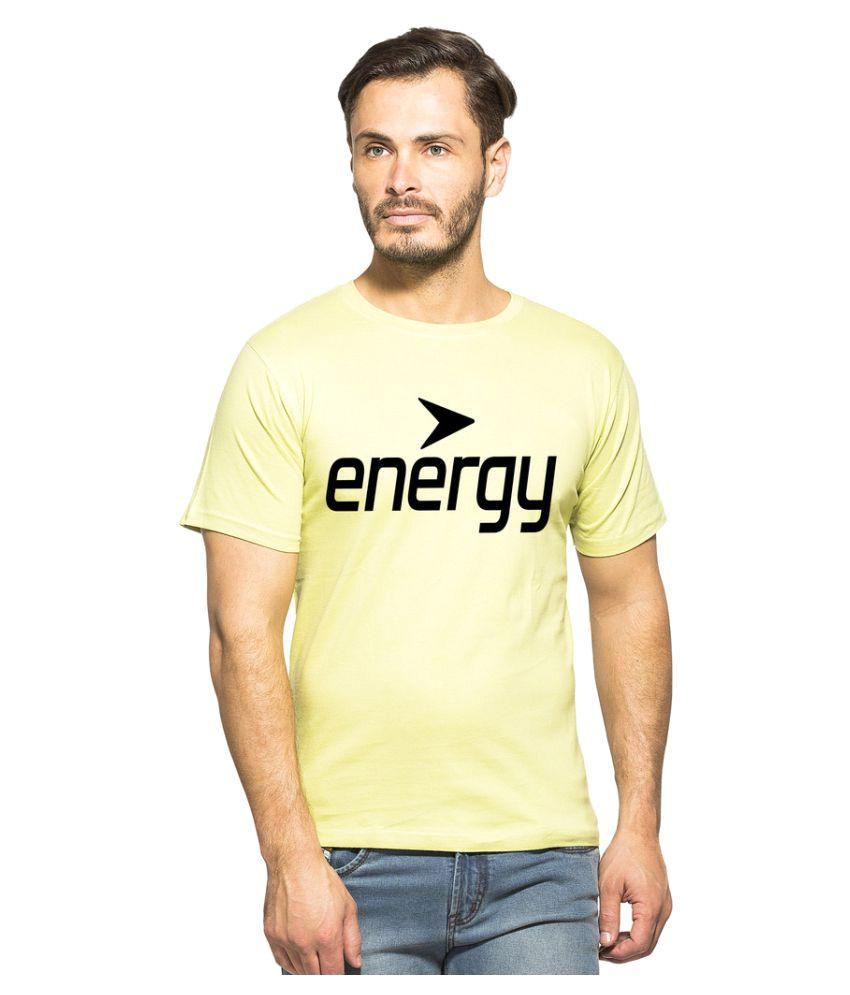 Clifton Yellow Round T-Shirt