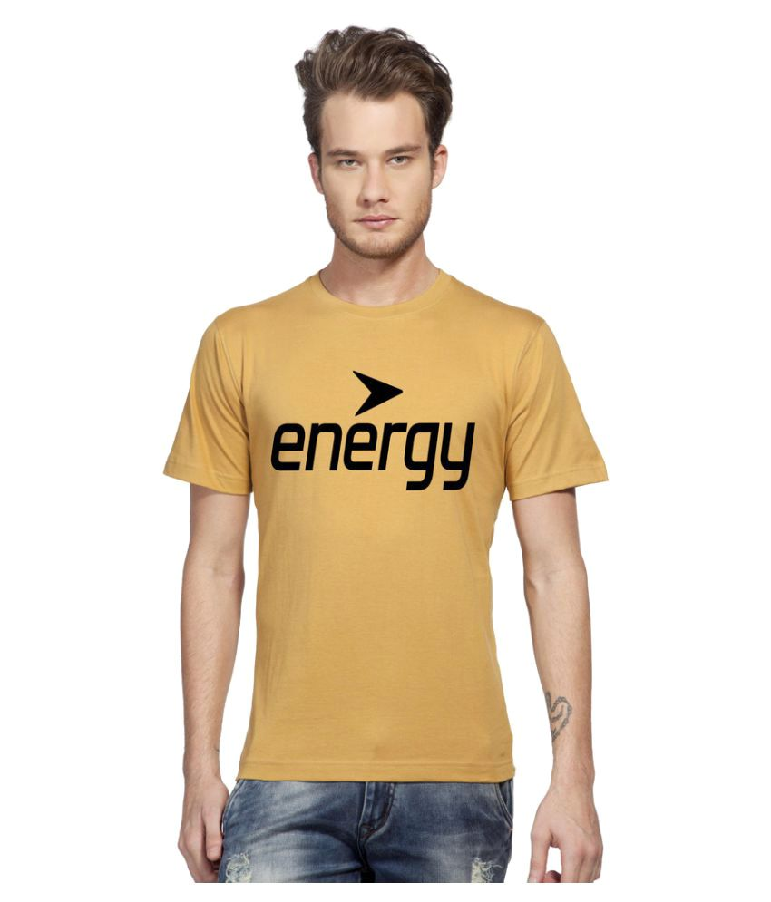 Clifton Yellow Round T-Shirt