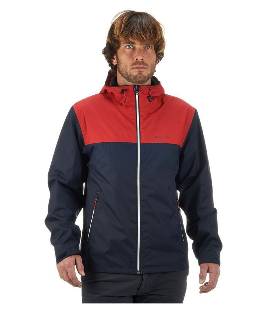 Quechua Navy Blue Arpenaz Hiking Jacket