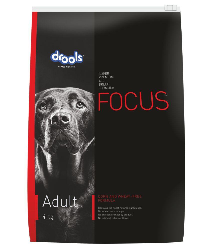 Drools Focus Super Premium Adult Dog Food , 4kg