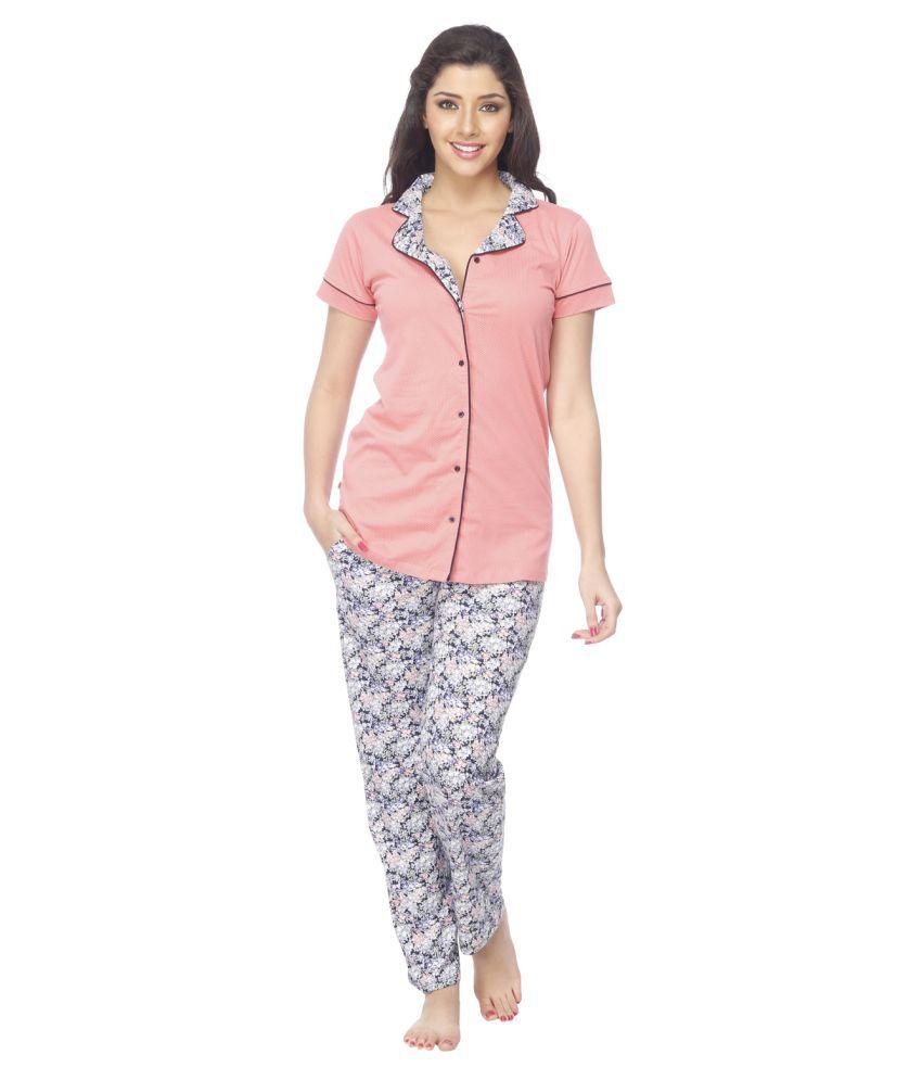 Vixenwrap Cotton Nightsuit Sets