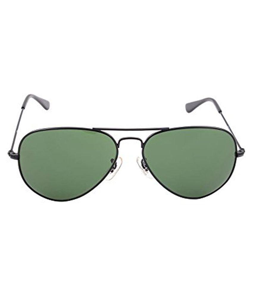 4ty Hands Green Aviator Sunglasses ( SPX12 )