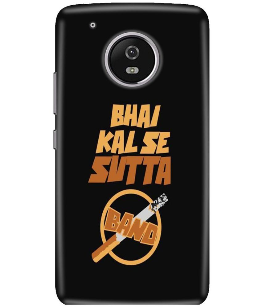 Moto G5 Printed Cover By Knotyy
