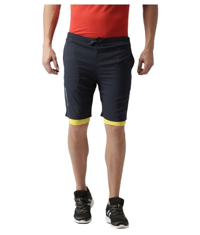 2GO Navy GO Dry Training Shorts