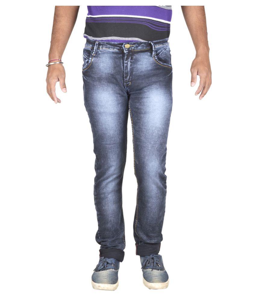 Ragzo Black Slim Jeans