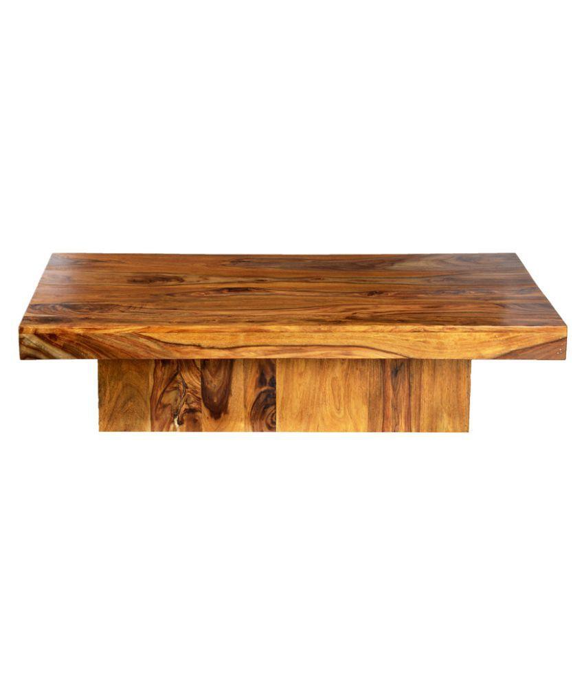 Ethnic India Art Adana Sheesham Wood Coffee Table In Honey Finish Buy Ethnic India Art Adana