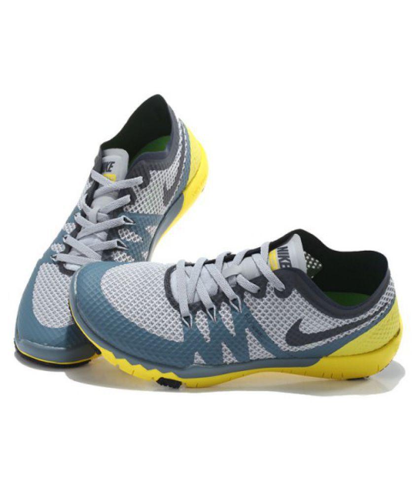 san francisco 155af c5662 Nike Free 3.0 FlyWire Gray Running Shoes - Buy Nike Free 3.0 ...