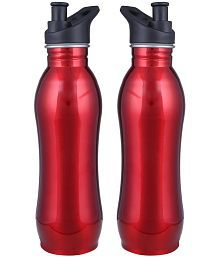 Lavi Captain Cool Red 500 Ml School Bottle Set Of 2